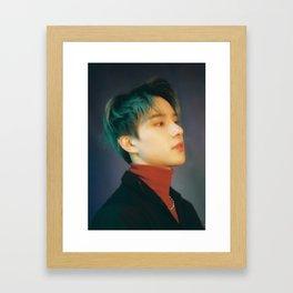 jungwoo nct Framed Art Print