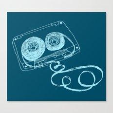 Oldschool Blues Mixtape Canvas Print