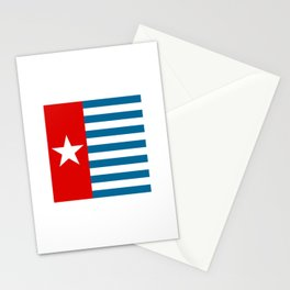 Flag of the morning star Stationery Cards