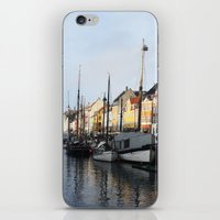denmark iPhone & iPod Skins featuring Denmark by Kayleigh Rappaport