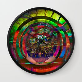 Cosmic Spin Wall Clock