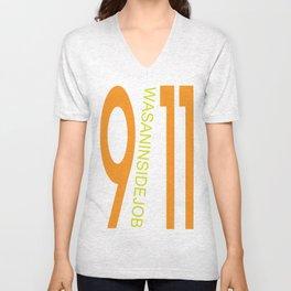 9/11 was an inside job. Unisex V-Neck