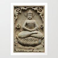 buddha Art Prints featuring Buddha by Falko Follert Art-FF77
