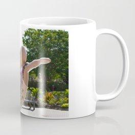 A mermaid in a norfolk botanical gardens Coffee Mug