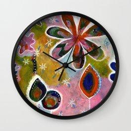 Pastels Wall Clock