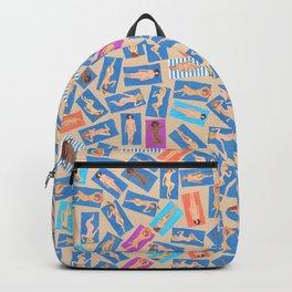 NUDE BEACH, pattern by Frank-Joseph Backpack