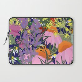 Aromatherapy for the Bees in Midnight Navy Laptop Sleeve