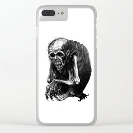 Wendigo Clear iPhone Case