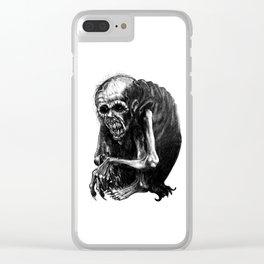 Wendigo Clear iPhone Case