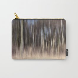 Abstract forest; intentionally blurred by camera shake Carry-All Pouch