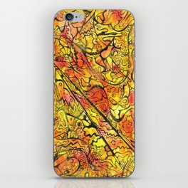 Sunset Projected iPhone Skin