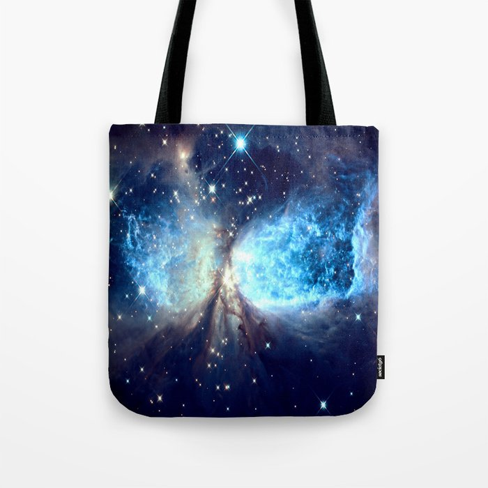 A Star is Born Teal Tote Bag