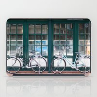 bicycles iPad Cases featuring Bicycles by DoryTuohey