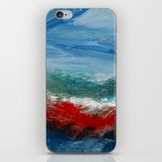 By the Angry Seashore iPhone & iPod Skin