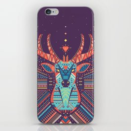 Symmetric Animals. DEER iPhone Skin