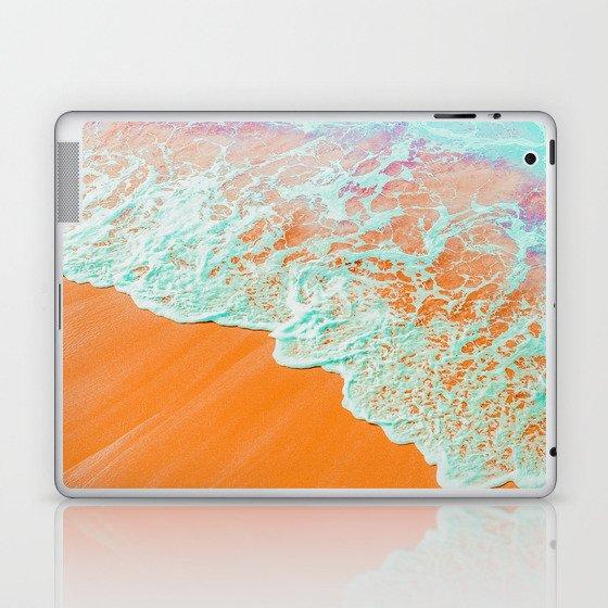 Coral Shore #photography #digitalart Laptop & iPad Skin