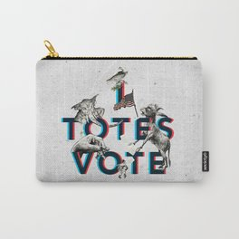 I Totes Vote Carry-All Pouch