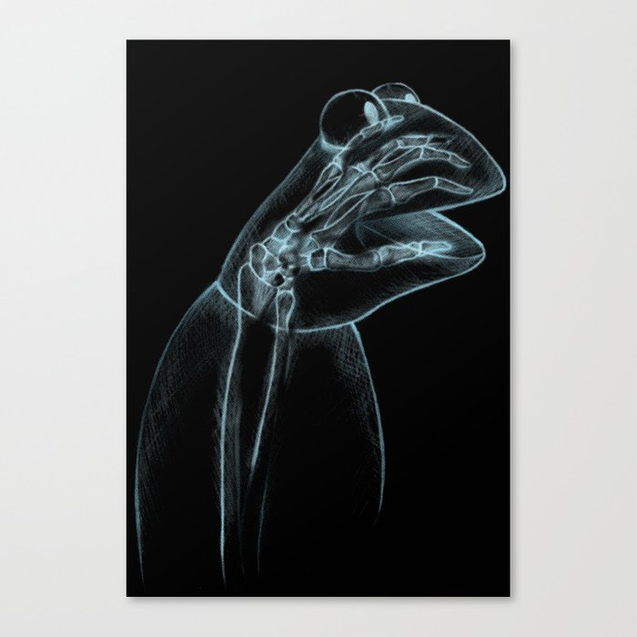 Puppet Check Up Canvas Print