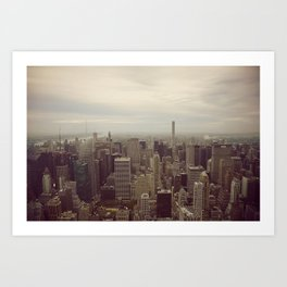 Manhattan Morning Art Print