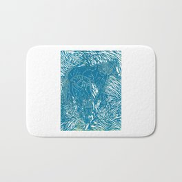 Abstract Buford Charging Bath Mat