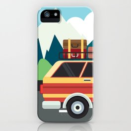 Our first road trip!  iPhone Case