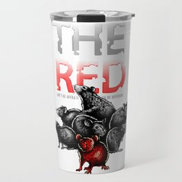 The Red Rat - be different Travel Mug