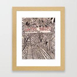No.3 Framed Art Print