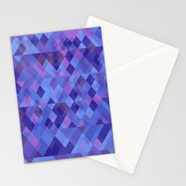 Geometric mosaique Stationery Cards