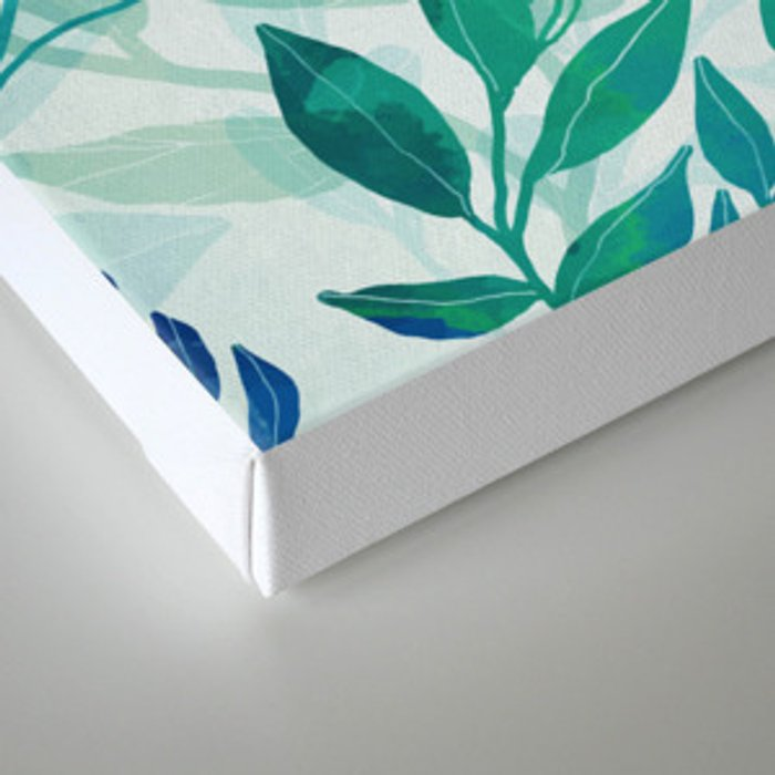 Botanical Pattern Canvas Print
