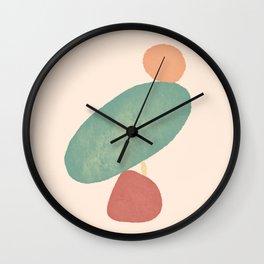 Balancing Act I Wall Clock