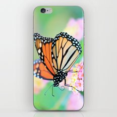 October Monarch iPhone Skin