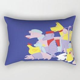 PET PARADE Rectangular Pillow