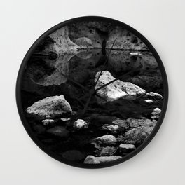 Reflections on Shallow Water Wall Clock