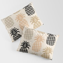 Retro Mid Century Modern Pineapple Pattern 77 Pillow Sham