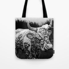 Skull Cow Tote Bag