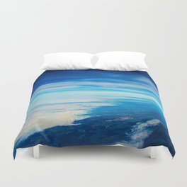50 shades of blue Duvet Cover