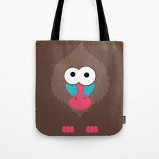 Minimal Baboon Tote Bag