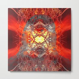 Spontaneous human combustion Metal Print