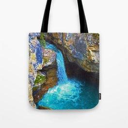 Stanley Waterfall & Beauty Creek, Jasper National Park Tote Bag