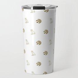 Raptors - White Travel Mug