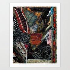 Disintegration 2 Art Print