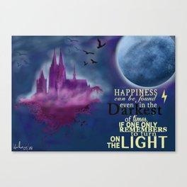 Cologne Illustration Canvas Print