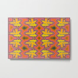 1508 Pattern by curious forms Metal Print