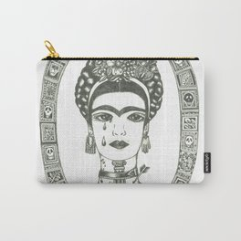 Frida Kahlo - Message of Pain Carry-All Pouch