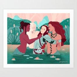 Overtaken Art Print