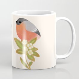 Eurasian bullfinch 2 Coffee Mug