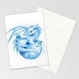 New Year dragon Stationery Cards