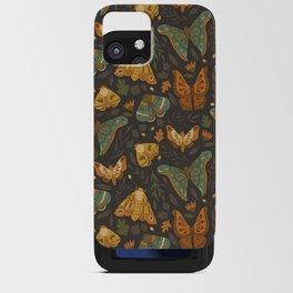 Autumn Moths iPhone Card Case