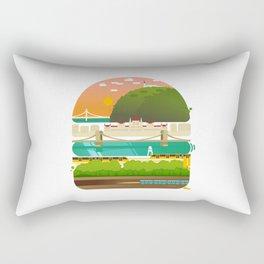 Budapest burger Rectangular Pillow
