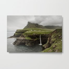 Faroe Islands Metal Print